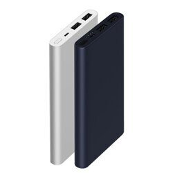 Аккумулятор Xiaomi Mi Power Bank 2 usb 10000mAh Silver