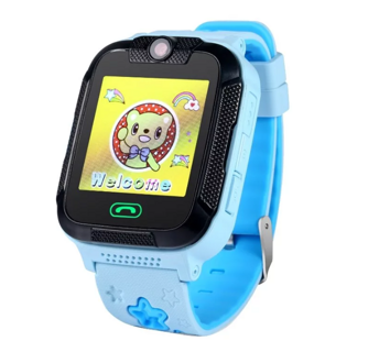 Детские часы smart baby watch Gw2000 Blue